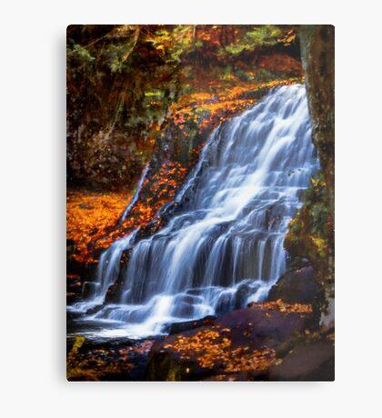 Wadsworth Falls Metal Print