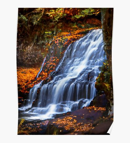 Wadsworth Falls Poster