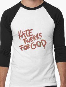 KATE TWERKS FOR GOD (life is strange) Men's Baseball ¾ T-Shirt