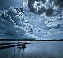 Blue in my world by rob castro