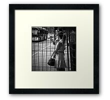 The Cage Framed Print
