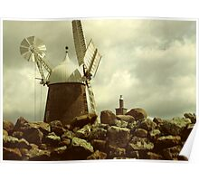 Callington Mill on Old Mill Lane  Poster