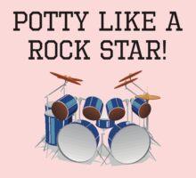 Potty Like A Rock Star Kids Clothes