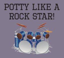 Potty Like A Rock Star Kids Tee