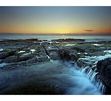 """Cascade"" ∞ Woody Head, NSW - Australia Photographic Print"