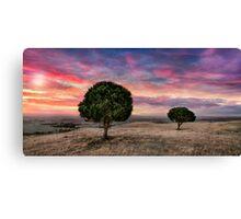 Barossa Valley Sunset Canvas Print