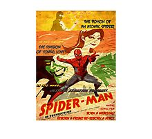 Spiderman is back! Photographic Print