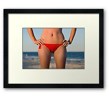 Tanned & Toned Framed Print