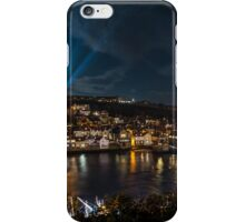Whitby at Night Panoramic iPhone Case/Skin