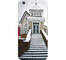 Church in the Snow iPhone Case/Skin
