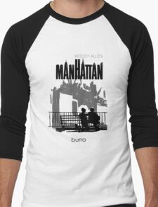 Woody Allen's Manhattan - illustration Men's Baseball ¾ T-Shirt