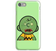 Zombie Charlie Brown iPhone Case/Skin