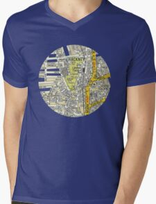 Hackney Mens V-Neck T-Shirt