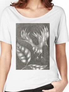 Supposedly Bird  Women's Relaxed Fit T-Shirt
