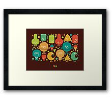 Jingle Hell Framed Print