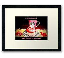 Red Velvet Cupcakes  Framed Print