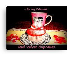 Red Velvet Cupcakes  Canvas Print
