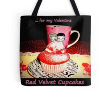 Red Velvet Cupcakes  Tote Bag