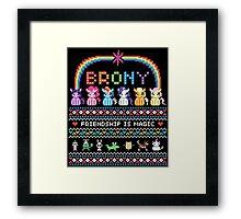 Bundle Up Brony Framed Print