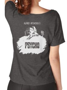 Alfred Hitchcock's Psycho by Burro! (black tee version) Women's Relaxed Fit T-Shirt