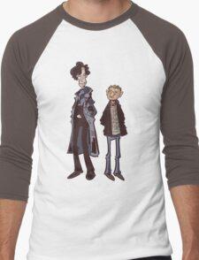 Flatmates Men's Baseball ¾ T-Shirt