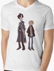 Flatmates Mens V-Neck T-Shirt