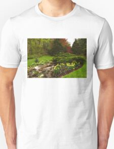 New Leaves and Flowers - Impressions Of Spring Unisex T-Shirt