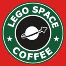 Lego Space Coffee by Yiannis  Telemachou