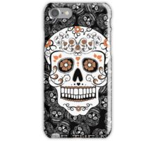 Day Of The Dead Skull Illustration Pattern iPhone Case/Skin