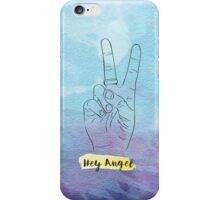 Hey Angel - Harry Styles (Blue) iPhone Case/Skin