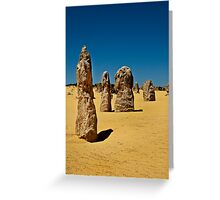 Pinnacles Greeting Card