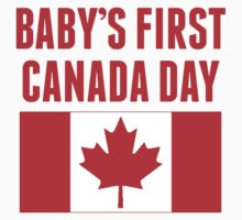 Baby's First Canada Day Kids Tee