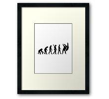 Evolution Judo Framed Print