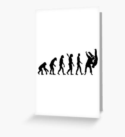 Evolution Judo Greeting Card