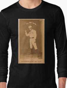 Benjamin K Edwards Collection Dick Conway Boston Beaneaters baseball card portrait Long Sleeve T-Shirt