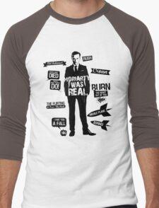 Good Old Fashioned Villain Quotes Men's Baseball ¾ T-Shirt