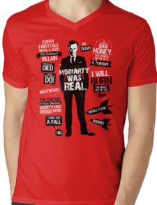 Good Old Fashioned Villain Quotes Mens V-Neck T-Shirt