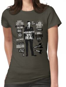 Good Old Fashioned Villain Quotes Womens Fitted T-Shirt