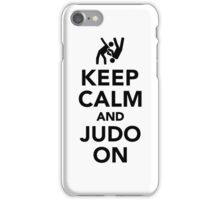 Keep calm and Judo on iPhone Case/Skin