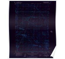 USGS Topo Map Washington State WA Winchester SE 244742 1956 24000 Inverted Poster
