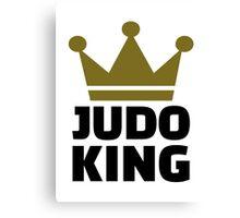 Judo King Canvas Print