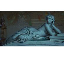 Goddess of Books in Pisa, Italy  Photographic Print