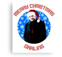 Christmas Crowley Canvas Print
