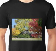 Kohler Mansion in Autumn Unisex T-Shirt