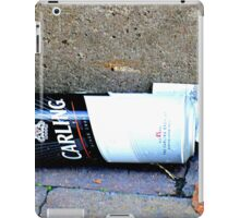 BET WITH A BEER  iPad Case/Skin