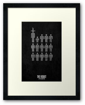 The Hobbit Minimalist 2 by matthumphrey