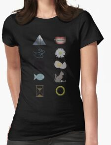 Riddles in the dark... Womens Fitted T-Shirt