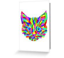 Cats mosaic Greeting Card