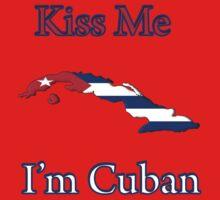 Kiss Me I'm Cuban Kids Tee