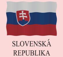 Slovakian flag by stuwdamdorp